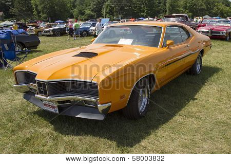 1970 Orange Mercury Cyclone Spoiler