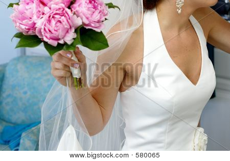 Bride And Boquet