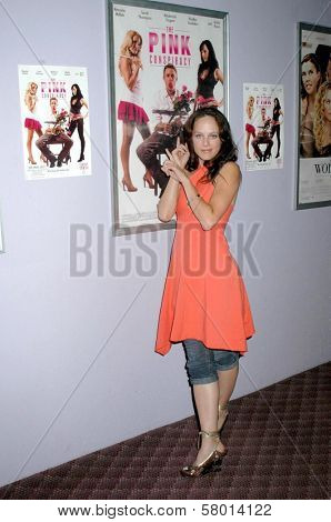 Mackenzie Firgens  at the Los Angeles Screening of 'The Pink Conspiracy'. Laemmle Grande 4-Plex, Los Angeles, CA. 09-20-08