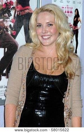 Mercedes McNab  at the Los Angeles Screening of 'The Pink Conspiracy'. Laemmle Grande 4-Plex, Los Angeles, CA. 09-20-08