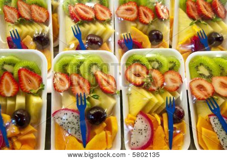 Packed Fruit Salad.