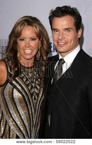 Mary Murphy and Antonio Sabato Jr.  at the Fox Reality Channel Awards. Avalon Hollywood, Hollywood, CA. 09-24-08