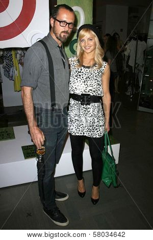 Rogan Gregory and Mena Suvari  at the Rogan For Target Debut at Barneys New York. Barneys New York, Beverly Hills, CA. 05-15-08