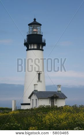 YBeautiful Day at Yaquina Head Lighthouse