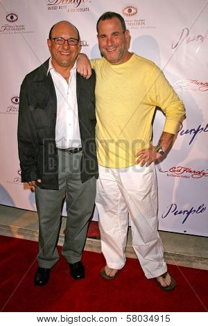 Kyle T. Heffner and Malcolm Danare  at Sober Day USA 2008 Presented by the Brent Shapiro Foundation for Alcohol and Drug Awareness. Private Residence, Beverly Hills, CA. 05-17-08