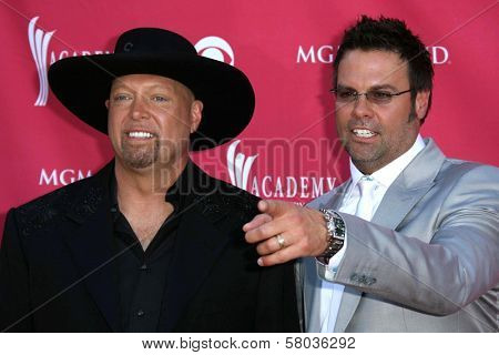 Montgomery Gentry  arriving at The 43rd Annual Academy Of Country Music Awards. MGM Grand Hotel And Casino, Las Vegas, NV. 05-18-08
