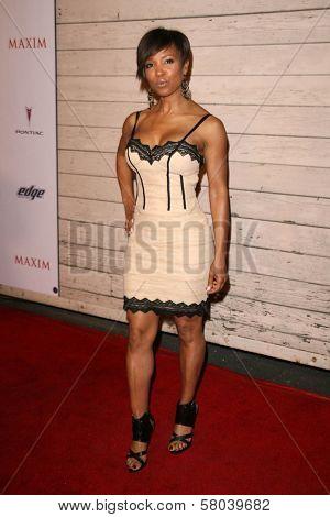 Elise Neal  at Maxim's 2008 Hot 100 Party. Paramount Studios, Hollywood, CA. 05-21-08