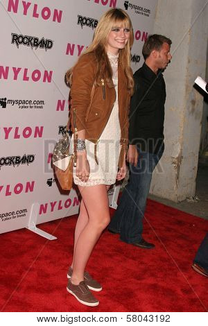 Mischa Barton  at the Nylon Magazine and Myspace Party. Private Location, Los Angeles, CA. 06-03-08