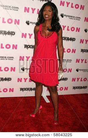 Omarosa Manigault-Stallworth  at the Nylon Magazine and Myspace Party. Private Location, Los Angeles, CA. 06-03-08