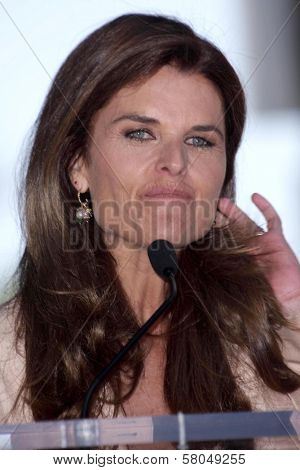 Maria Shriver  at the award ceremony honoring Susan Saint James with a star on the Hollywood Walk of Fame. Hollywood Blvd., Hollywood, CA. 06-11-08