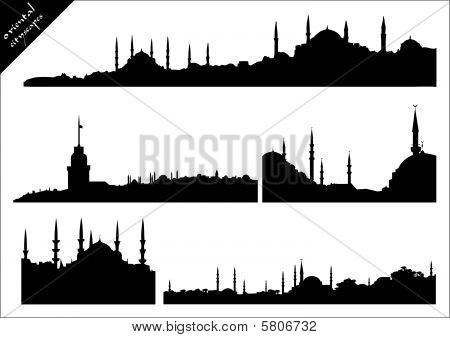 oriental cityscapes