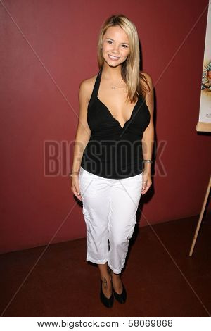 Ashlynn Brooke  at the Preview Screening of