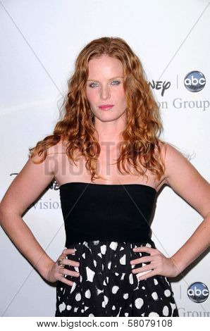 Rebecca Mader  at Disney and ABC's