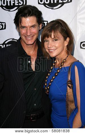 Robert Lewis Stephenson and Bobbie Eakes  at the Premiere Screening of