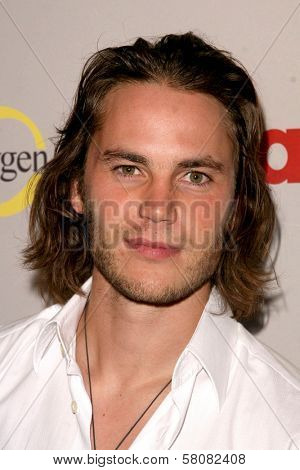 Taylor Kitsch  at the NBC Universal 2008 Press Tour All Star Party. Beverly Hilton Hotel, Beverly Hills, CA. 07-20-08