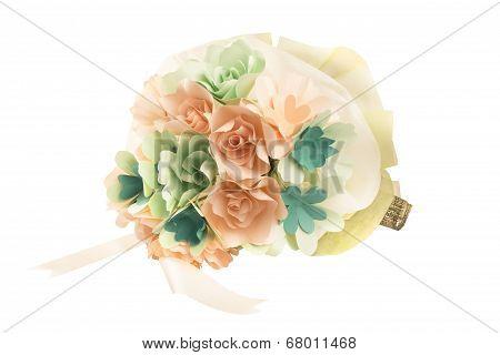 Nosegay bouquet, Paper Flowers