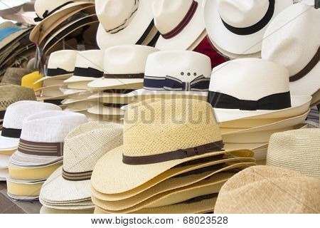 Straw Men Hats