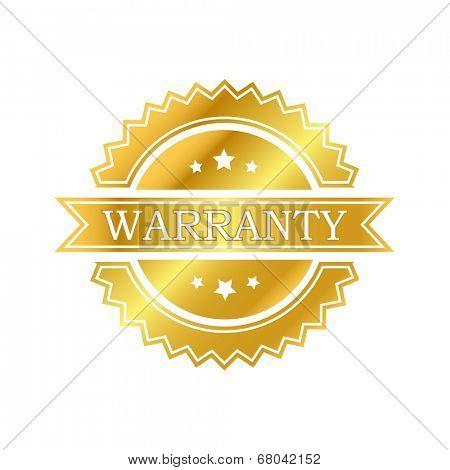 Warranty golden label