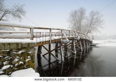 Old north bridge,concord,ma