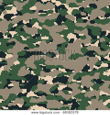 Digital Army Camouflage