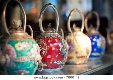 Traditional Chinese Teapots