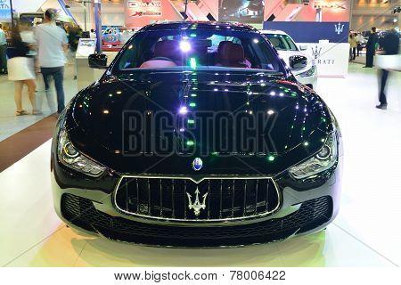 Nonthaburi - December 1: Maserati Ghibli Car Display At Thailand International Motor Expo On Decembe