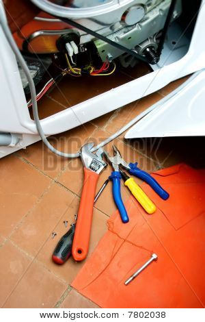 Repair Of Washing-machine