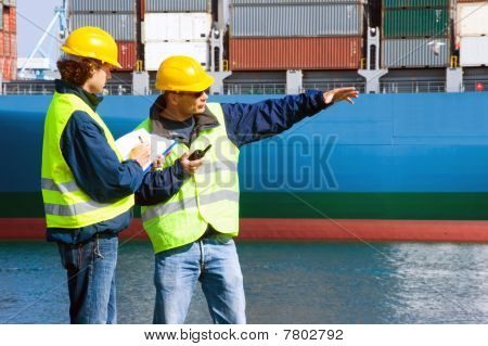 Dockers At Work
