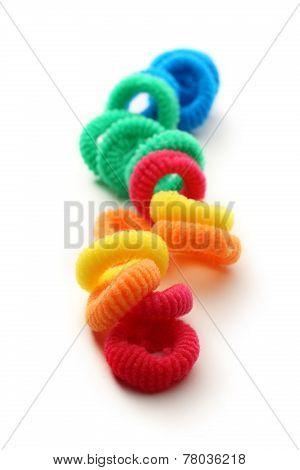 Colorful Elastic Hair Bands
