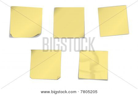 Yellow Note Papers