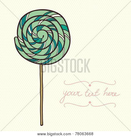 Doodle Lollipop.