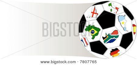 Soccer ball illustration