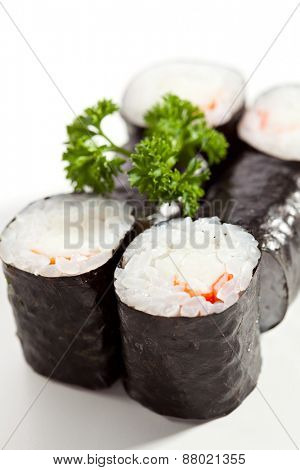 Ebi Maki - Sushi Roll with Shrimps inside