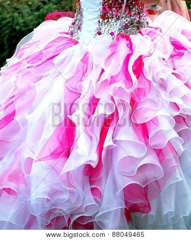 Quinceanera gown.