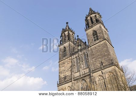 Cathedral In Magdeburg, Germany
