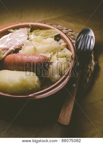 Galician Stew, A Typical Spanish Dish
