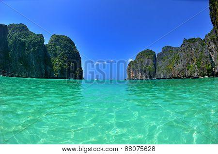 Beautiful Bay In Thailand