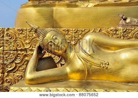 Golden Laying Buggha