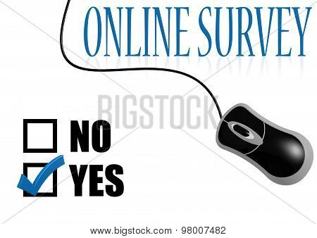 Online Survey Check Mark