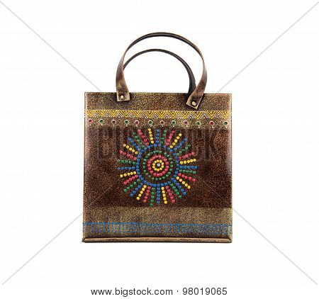 Ethnic Indian Metal Hand Bag