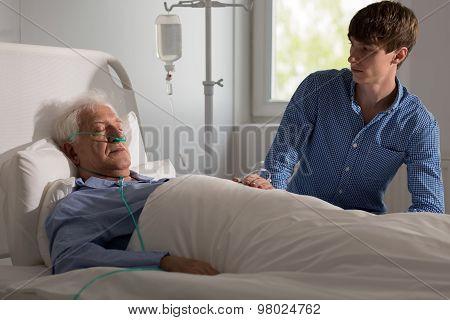 Terminally Ill Man