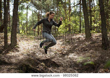 Jumping During Jogging