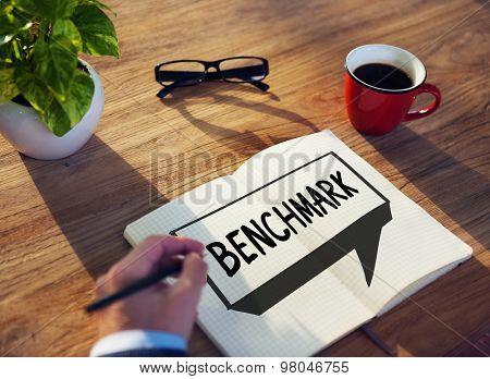 Benchmark Standard Management Improvement Benchmarking Concept