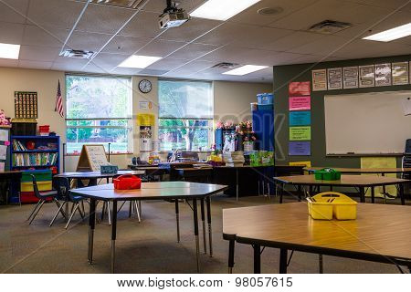 Classroom In Primary School