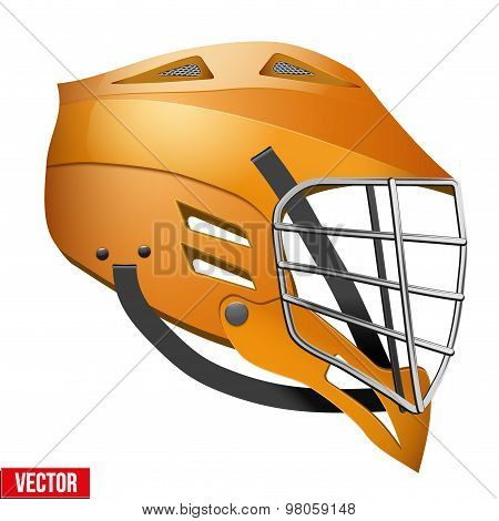 Lacrosse Helmet Side View