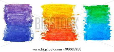 3 water color elements