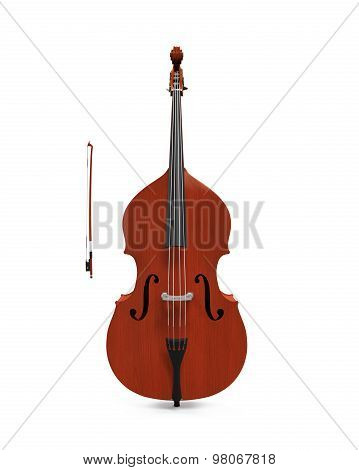 Double Bass Isolated