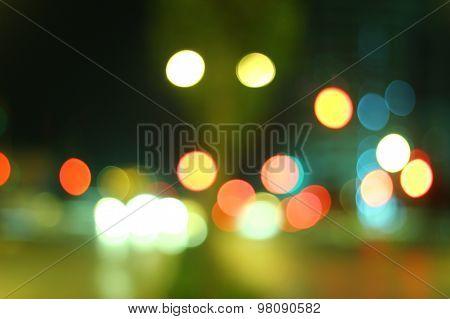 Blurred Lights Set 8