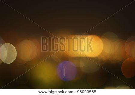 Blurred Lights Set 9