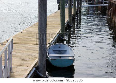 Small Boat at a Dock